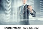 his business growth and... | Shutterstock . vector #527538652