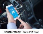 credit score concept on screen   Shutterstock . vector #527545762