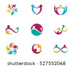 adoption and community care logo | Shutterstock .eps vector #527552068