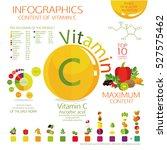 infographics  maximum content... | Shutterstock .eps vector #527575462