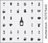 alcohol bottle icon. drinks... | Shutterstock .eps vector #527575642