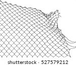 damage wire mesh   Shutterstock . vector #527579212