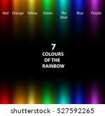 seven colors of the rainbow... | Shutterstock .eps vector #527592265
