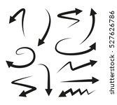 arrows | Shutterstock .eps vector #527626786