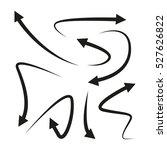 arrows   Shutterstock .eps vector #527626822