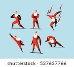 vector illustration set of... | Shutterstock .eps vector #527637766