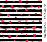 vector stripe pattern with... | Shutterstock .eps vector #527663872