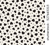 seamless monochrome pattern...