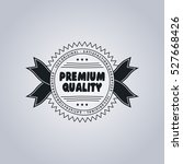 product label sticker premium... | Shutterstock . vector #527668426