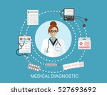 healthcare  hospital and... | Shutterstock .eps vector #527693692