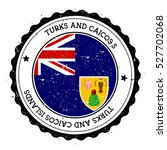 turks and caicos islands flag... | Shutterstock .eps vector #527702068