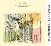ulcinj  montenegro  europe.... | Shutterstock .eps vector #527714806