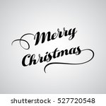 merry christmas greeting card | Shutterstock .eps vector #527720548