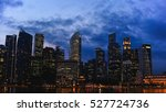 city lights at night. night... | Shutterstock . vector #527724736