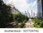 green city of the future. city... | Shutterstock . vector #527724742