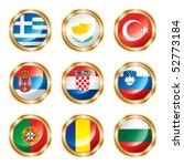 flag buttons european four.... | Shutterstock .eps vector #52773184
