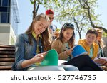 education  high school and... | Shutterstock . vector #527746735