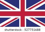 great britain waving flag | Shutterstock .eps vector #527751688
