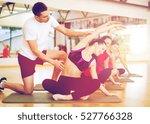 fitness  sport  training  gym... | Shutterstock . vector #527766328