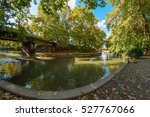 the river of trikala | Shutterstock . vector #527767066