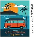 Vector Illustration Surf Bus...