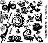 elements for designing... | Shutterstock .eps vector #52780636