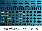 ribbon banner label black... | Shutterstock .eps vector #527820325