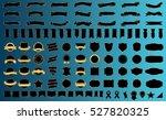 ribbon banner label black... | Shutterstock .eps vector #527820325
