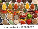 Aromatic And Colorful Spices I...