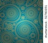 elegant paisley seamless   Shutterstock .eps vector #52783351