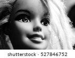 Blurry Portrait Happy Doll Fac...
