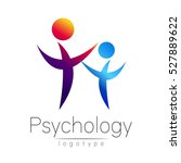 modern people psi logo of... | Shutterstock .eps vector #527889622