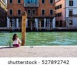 venice  italy   circa september ... | Shutterstock . vector #527892742