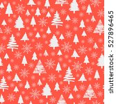 holiday pattern  christmas... | Shutterstock .eps vector #527896465