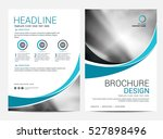 brochure layout design template ... | Shutterstock .eps vector #527898496
