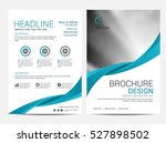 brochure layout design template ... | Shutterstock .eps vector #527898502