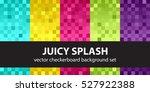 Checkerboard Pattern Set