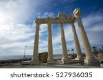 turkey antalya side | Shutterstock . vector #527936035