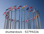 europe countries flags arranged ... | Shutterstock . vector #52794226