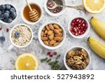 ingredients for a healthy... | Shutterstock . vector #527943892