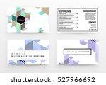 geometric background template... | Shutterstock .eps vector #527966692