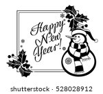 holiday label with funny... | Shutterstock .eps vector #528028912
