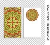 business card. vintage...   Shutterstock .eps vector #528037906