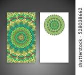 business card. vintage... | Shutterstock .eps vector #528038662