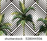 beautiful seamless vector... | Shutterstock .eps vector #528044506