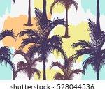 beautiful seamless vector... | Shutterstock .eps vector #528044536
