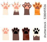 original trendy vector set with ... | Shutterstock .eps vector #528045526