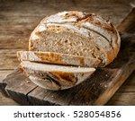 freshly baked sliced bread on...   Shutterstock . vector #528054856