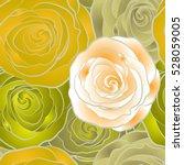 rose texture illustration.... | Shutterstock . vector #528059005