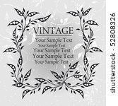 vintage background | Shutterstock .eps vector #52808326